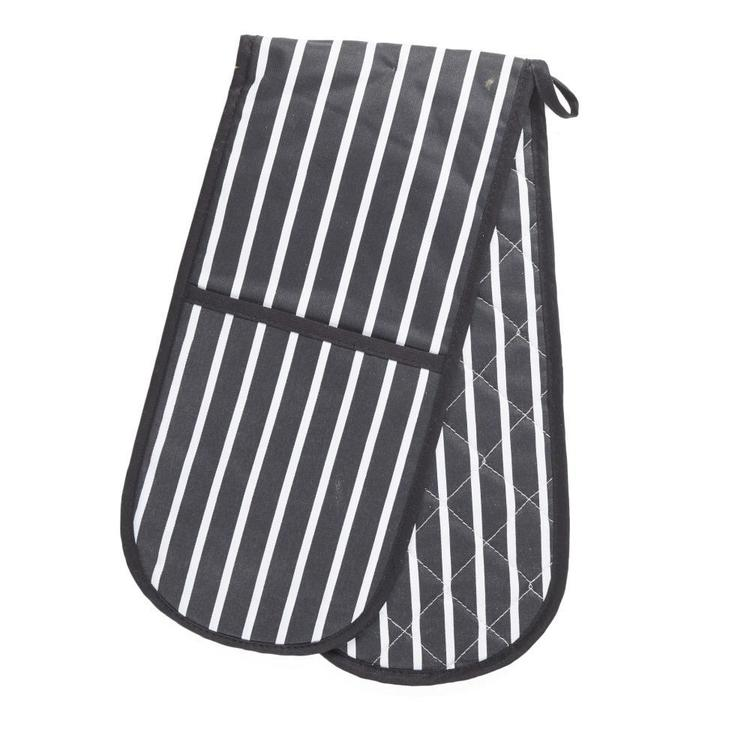 In-Habit Butchers Stripe Double Glove
