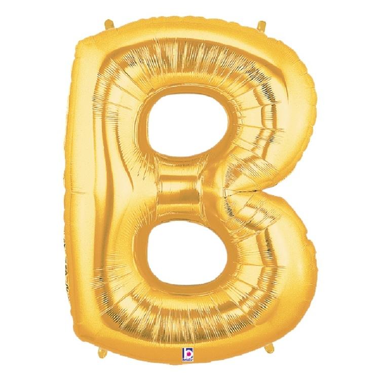 Betallic Megaloon Letter B Foil Balloon