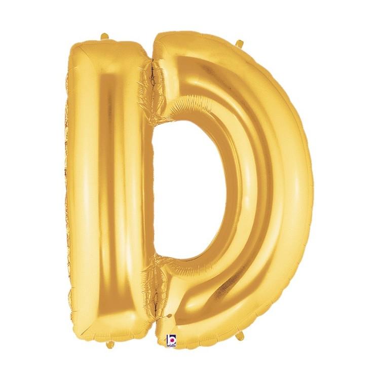 Betallic Megaloon Letter D Foil Balloon
