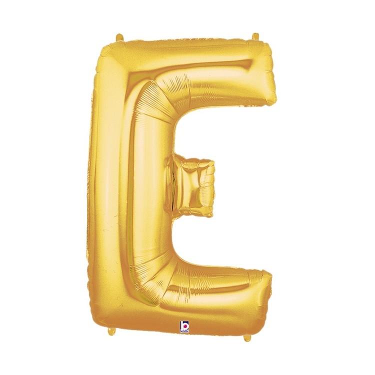 Betallic Megaloon Letter E Foil Balloon