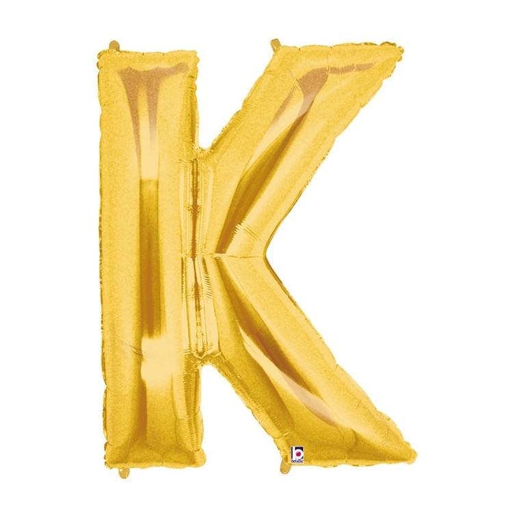 Betallic Megaloon Letter K Foil Balloon