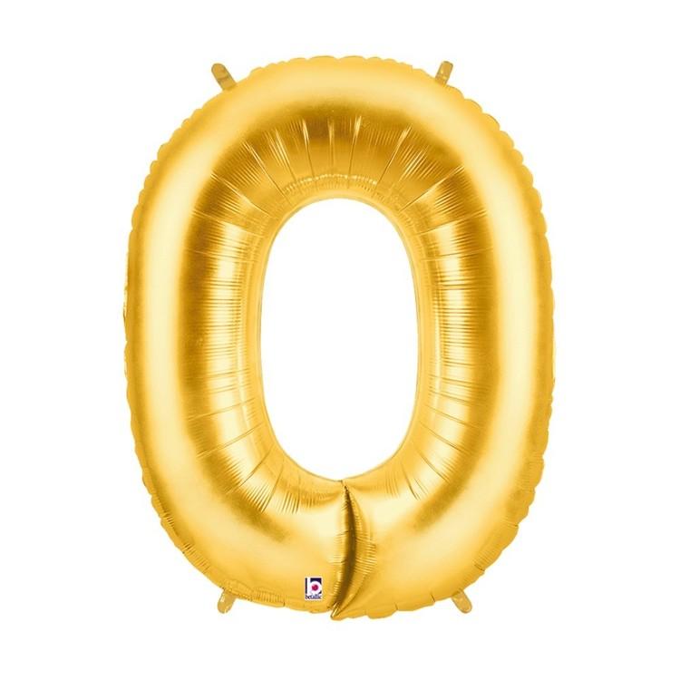 Betallic Megaloon Letter O Foil Balloon