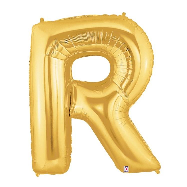 Betallic Megaloon Letter R Foil Balloon