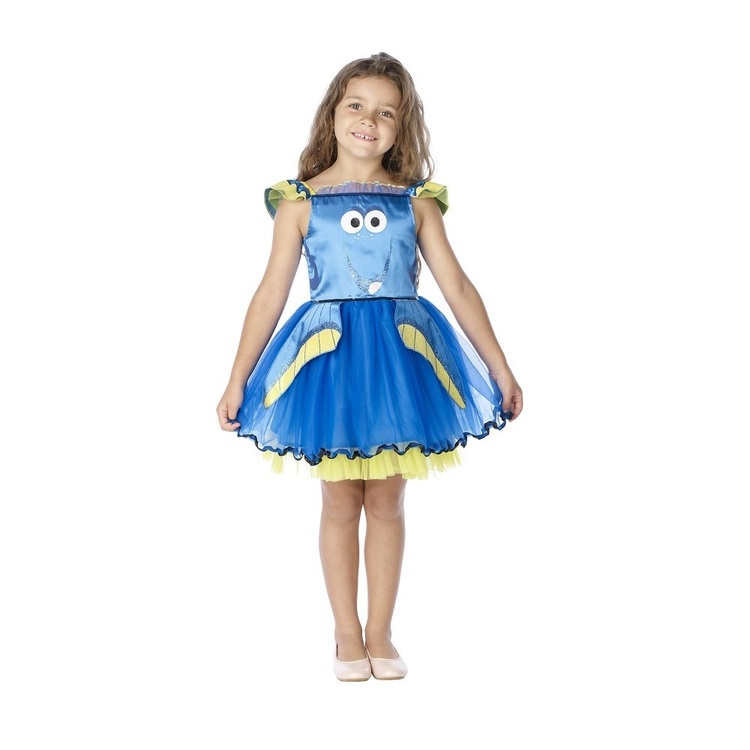 Disney Pixar Finding Dory Deluxe Tutu Blue 3 - 5 Years