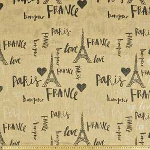 Paris Metallic Hessian