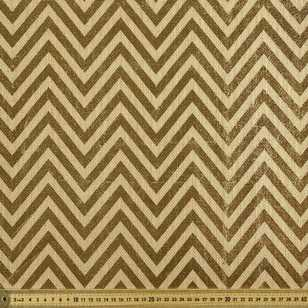 Chevron Metallic Hessian
