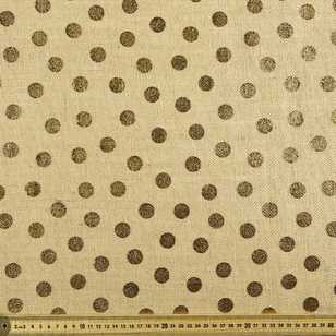 Spots Metallic Hessian