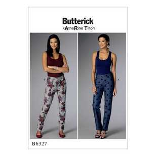 Butterick Pattern B6327 Misses' Tapered Pants