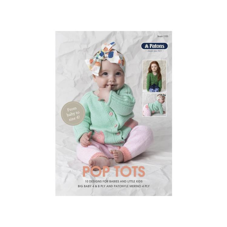 Patons Pop Tots Pattern Book