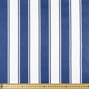 Stripe Cotton Canvas