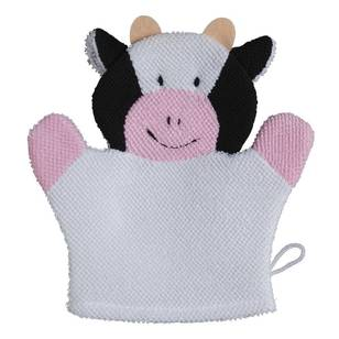 Brampton House Kids Cow Bath Glove