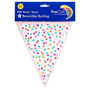 Five Star Pop Dots Bunting
