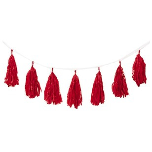 Five Star Tassel Garland