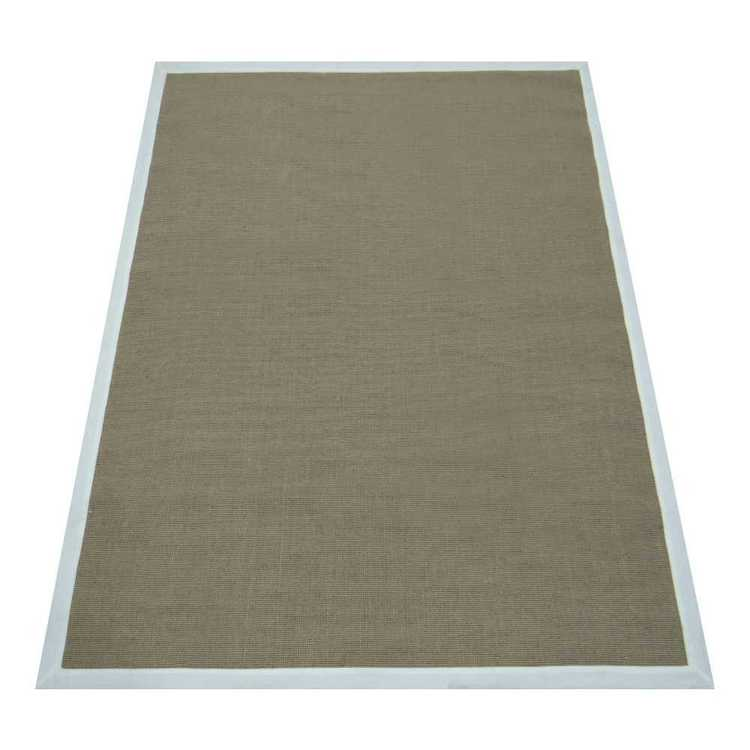 Romy Jute Rug With Latex Backing Natural 130 x 180 cm