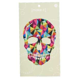 Make It Jumbo Digital Skull Motif