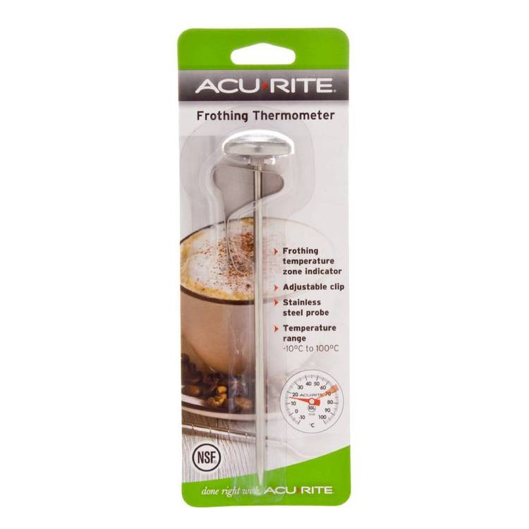 Acurite Milk Frothing Thermometer Grey