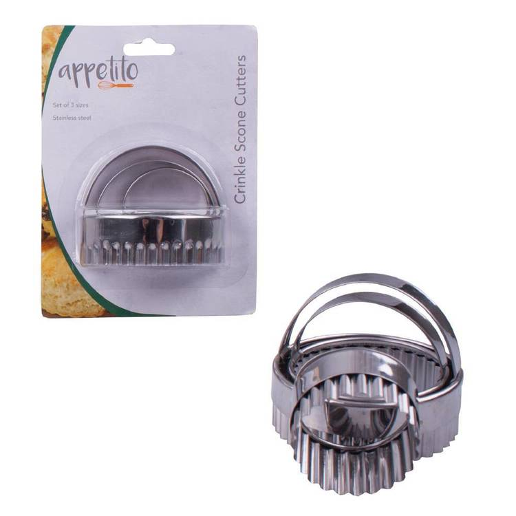 D.Line Stainless Steel Crinkle Cutters
