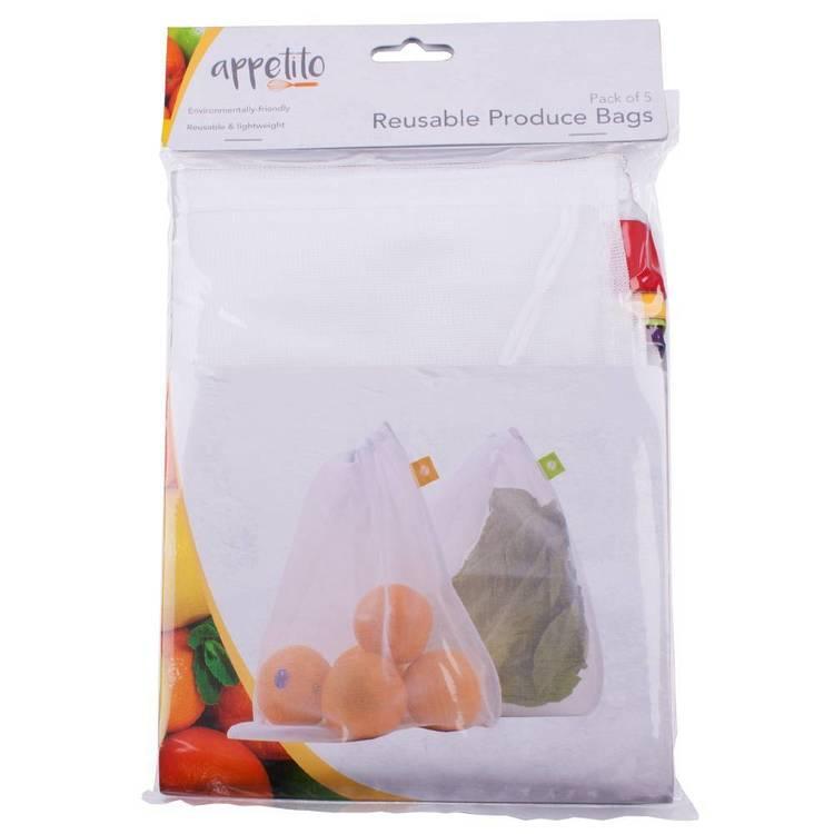 D.Line Mesh Produce Bags
