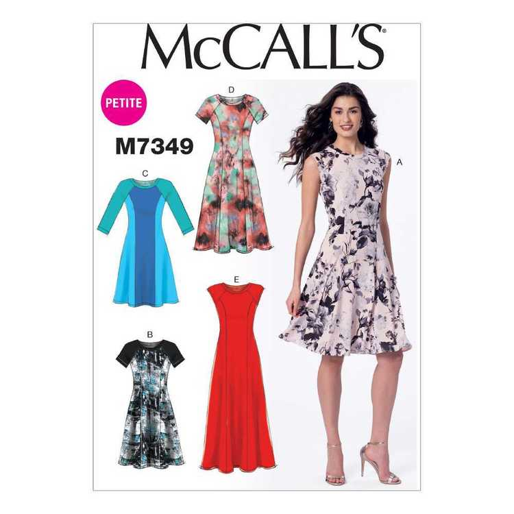McCall's Pattern M7349 Misses Petite Sleeveless