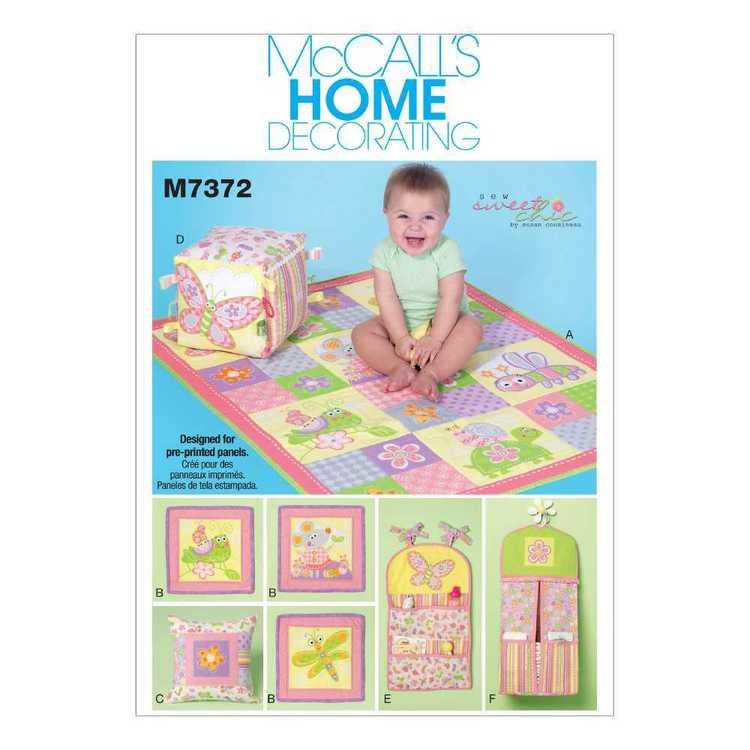 McCall's Pattern M7372 Nursery Blanket