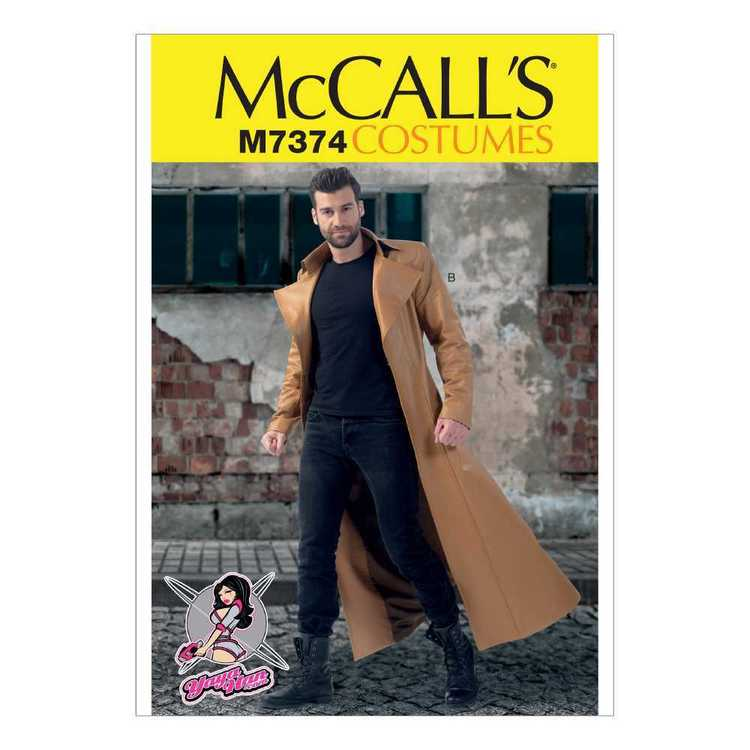 McCall's Pattern M7374 Collared & Seamed Coats