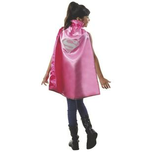DC Comics Supergirl Pink Cape