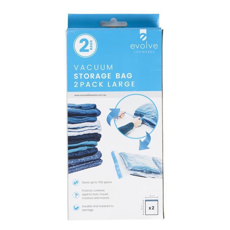Evolve Lifewares Vacuum Bags 2 Pack