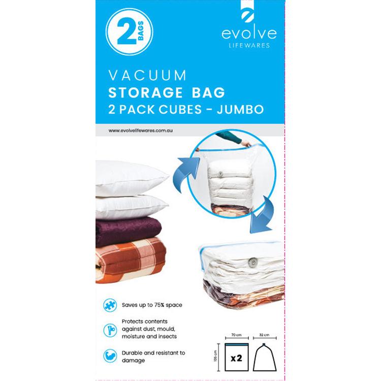 Evolve Lifewares Vacuum Bags Cube