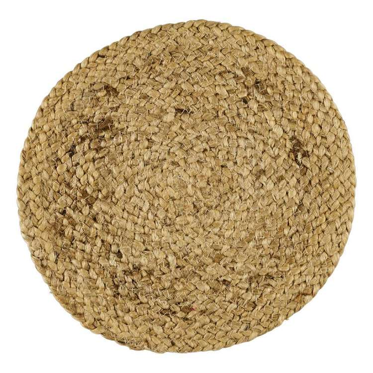 In-Habit Devon Round Jute Placemat