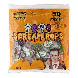 Lolliland Halloween Monster Tattoo Pops Confectionery