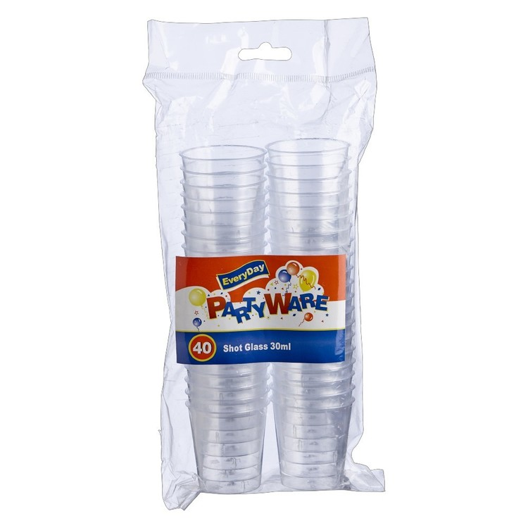 Partyware Clear Shot Glass