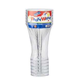 Partyware Clear Cocktail Glass