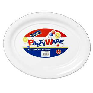 Partyware Oval Tray