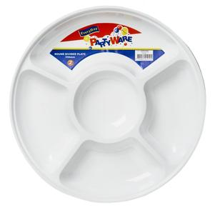 Partyware Round Divider Dish