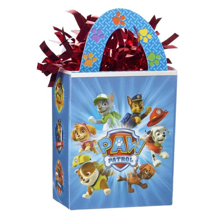 Nickelodeon Paw Patrol Mini Tote Balloon Weight Red