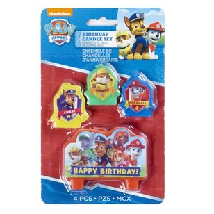 Paw Patrol Candle Set