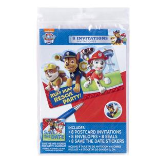 Paw Patrol Invitation Set