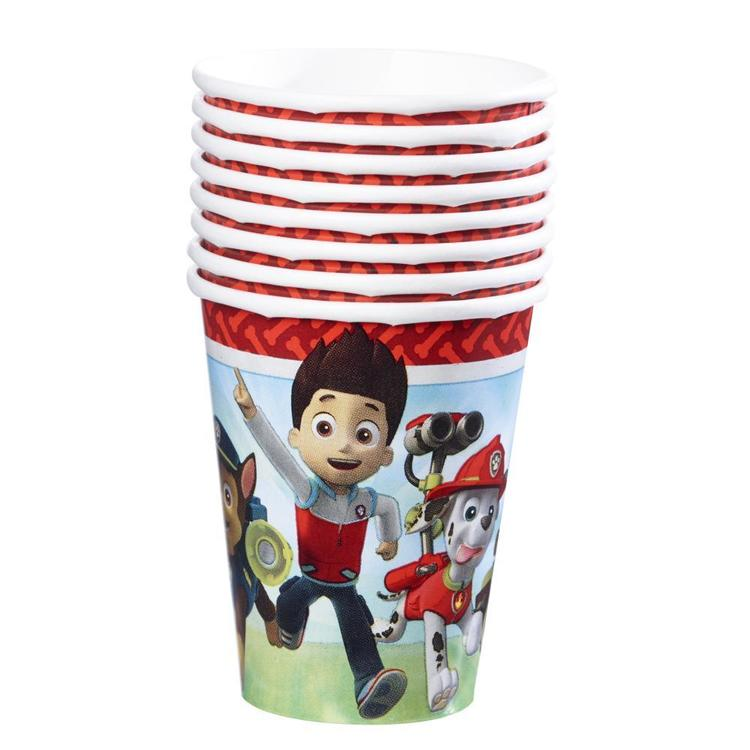 Paw Patrol Cups Red 266 mL