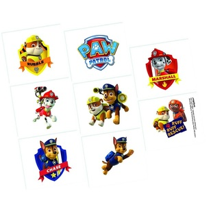 Nickelodeon Paw Patrol Tattoos