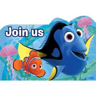 Disney Pixar Finding Dory Invitations