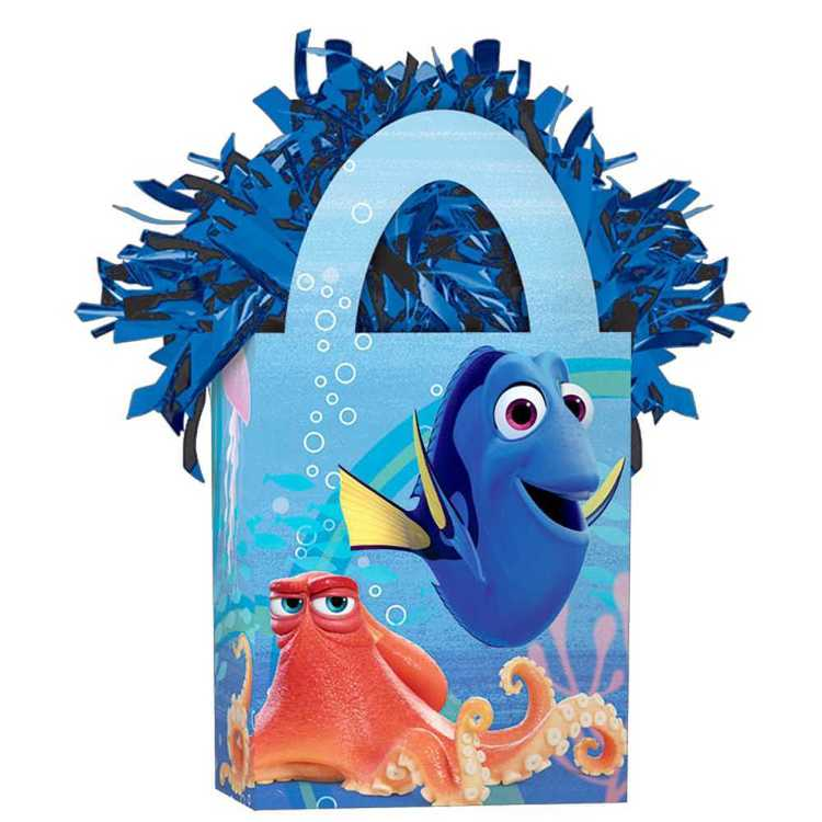 Disney Pixar Finding Dory Mini Tote Balloon Weight Blue