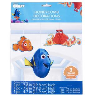 Disney Pixar Finding Dory Honeycomb Decoration
