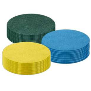 Arbee Round Felt 10 cm Value Pack