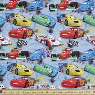 Disney Pixar Racers Edge Cards Printed Poplin