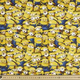 Minions Small Allover Poplin