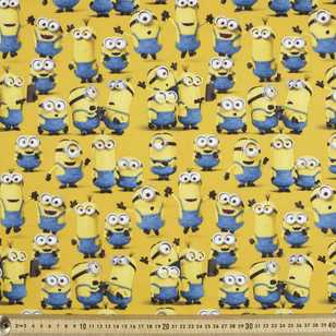 Minions Group Love Poplin