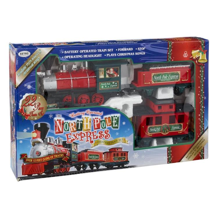 Jolly & Joy Premium Christmas Train Set