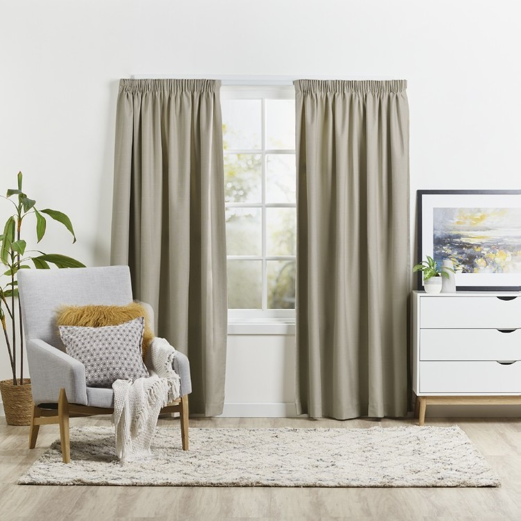 Emerald Hill Turner Pencil Pleat Curtain
