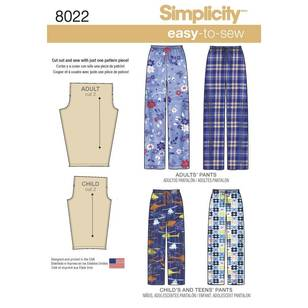 Simplicity Pattern 8022 Child's