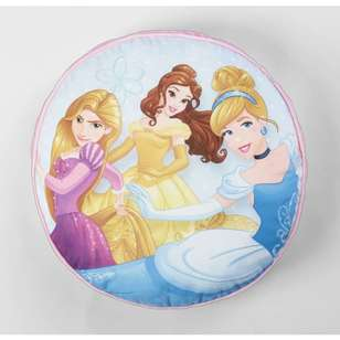 Disney Princess Round Cushion